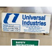 Unused Universal Industries Stainless Steel Bucket Elevator - SC Series