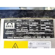Used Eriez Electromagnetic Vibrating Feeder - Model 15A w/ Hopper
