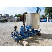 Used Neptune Chemical Feed System with Duplex Metering Pumps