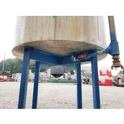 Used Stainless Steel Mix Tank - 140 Gallon