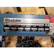 "Used 6"" DeZurik Stainless Steel KGC Knifegate Valve - (Manual, chainwheel)"