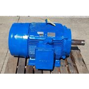 Used 125 HP Siemens Chemical Duty Quality Electric Induction motor 444T frame