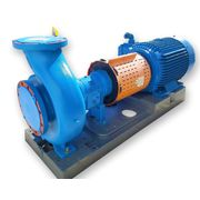 Used 125HP Goulds XLT-X 3196 Centrifugal Pump - 8X10-13