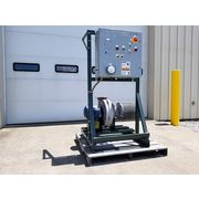 Used 2 HP Chicago Cast Aluminum Pressure Blower Size 1200
