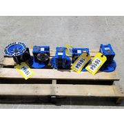 Used Motovario Worm Gear Reducers Type NMRV [Lot of 5]