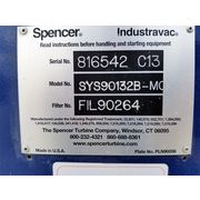 Used 4.2 HP Spencer 262 CFM Fast-vac System - SYS90132B-MOD