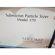 Used Nicomp Submicron Particle Sizer Sizing System - Model 370