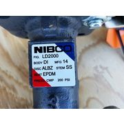 "Surplus 3"" Nibco Ductile Iron Lug Style Butterfly Valve - LD2000"