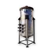 Used Stainless Steel Liquid Jacketed Tank - 480 Gallon