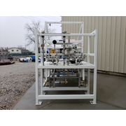 Unused Tote Systems 300 Gallon 304 Stainless Steel Product Make Up Skid