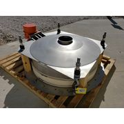 "48"" Schenk AccuRate SolidsFlow Stainless Vibratory Live Bottom Bin Activator"