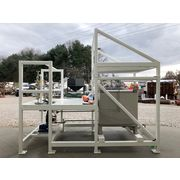 Unused 300 Gallon Tote Systems 304 Stainless Steel Product Make Up Skid