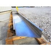 "Used FMC Stainless Steel Vibrating Conveyor 18"" X 13' long"