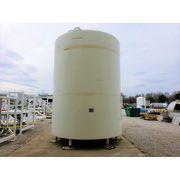 Used Walker 5,800 Gallon Sanitary Stainless Jacketed Mix Tank Mixing Storage