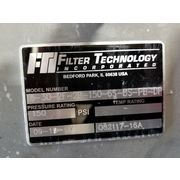 Used FTI  Filter Technology Stainless Duplex Bag Pressure Strainer Model 08