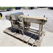 "Used Loma Systems Metal Detector w/ 8""w X 8' Conveyor"