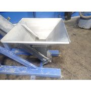 "Bulk Bag Filler with 6"" Incline Screw Conveyor - Carbon Steel"