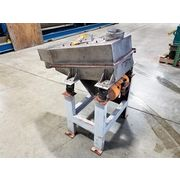 "Used 12"" X 24"" Stainless Steel Vibratory Single Deck Screener"