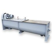 Used Stainless Steel Continuous Paddle Mixer