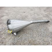 Used 4 Cubic Foot Flexicon Aluminum Hopper