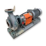 Used 330 GPM @ 77' HD Stainless Goulds Centrifugal Pump Model 3196 3X4-10H