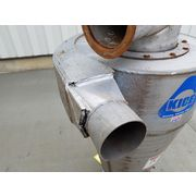 "Used Kice 24"" Dia. Stainless Steel Cyclone Separator"
