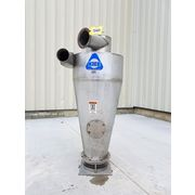 "Used 24"" Dia. Kice Stainless Steel Cyclone Separator"