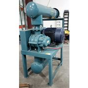 Used 50 HP Tuthill Positive Displacement Rotary Lobe Blower 6008-21L2 Package