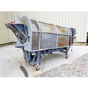 "Used 30"" Dia. X 7.5' Direct Heat Rotary Dryer - Stainless Steel"
