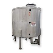 Used 1,000 Gallon Stainless Steel Tank with Heat Exchanger Package