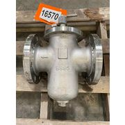 "Used 4"" Titan FCI Industrial Simplex (Single Chamber) Pipeline Strainer - BS 85"