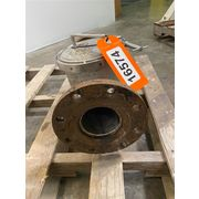 "Used Eriez 4"" Super B Magnetic Liquid Line Ferrous Trap"