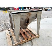 Used 7 CU/FT Stainless Steel Hopper
