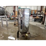 Used 24 cu.ft. Una-Dyn 600lb Solid Cone Stainless Hopper Loader Vacuum Filter