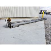 "Used 12"" dia. x 24' Long Stainless Steel Screw Auger Conveyor"