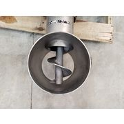 "Used 5"" dia. Stainless Steel Schenck AccuRate Screw Feeder - MOD1204M"