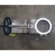 "Used 10"" Stainless Steel Manual Knife Gate Valve"