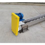 "Used 9"" dia. x 20' Long Stainless Steel Screw Auger Conveyor"