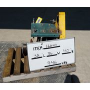 Used Screw Conveyor Drive with Dodge Shaft Mount Speed Reducer