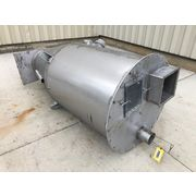Used 50 Cubic Foot Stainless Steel Hopper Bin Receiver