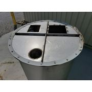 Used 48 Cubic Foot Stainlesss Steel Hopper