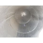 Used 350 cu.ft. Aluminum Powder Silo Model: T-6061-T6 ALUM