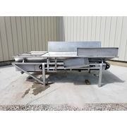 "Used 45"" W x 7' L Stainless Steel Belt Conveyor"