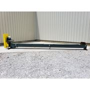 "Used 9"" dia. x 22' Long Carbon Steel Screw Auger Conveyor"