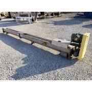 "Used 9"" dia. x 17.5' Long Stainless Steel Screw Auger Conveyor"