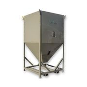 Used 125 Cubic Foot Conair Portable Storage Mobile Surge Bin SB60-125