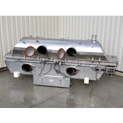 "Used Stainless Steel Carrier Fluid Bed Dryer QAD/C-3060S-17'-9""-(2)3.0HP"