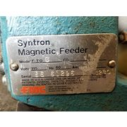 "1.5 X 12"" Syntron Magnetic Vibrating Lab Laboratory Feeder - Model F-TOC"