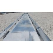"Used 32"" W x 40' Long Stainless Steel Belt Conveyor"