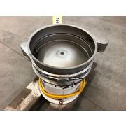 "Used 18"" Sweco LS18S33 Vibro-Energy Separator Single Deck Stainless Steel"